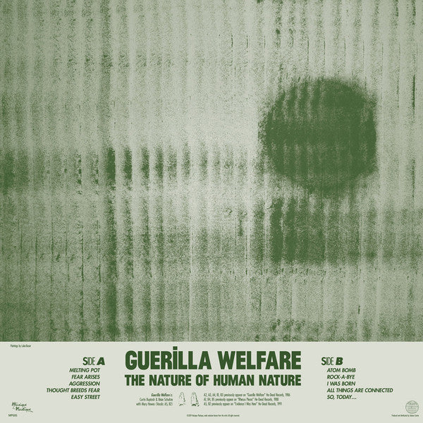 Guerilla Welfare - The Nature Of Human Nature