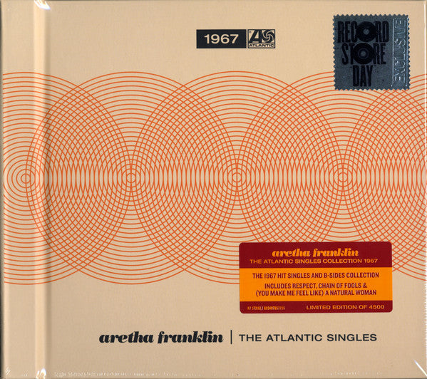 Aretha Franklin - The Atlantic Singles (1967) (5X7')