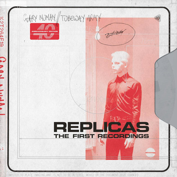 Gary Numan // Tubeway Army  -  Replicas (The First Recordings, CD)