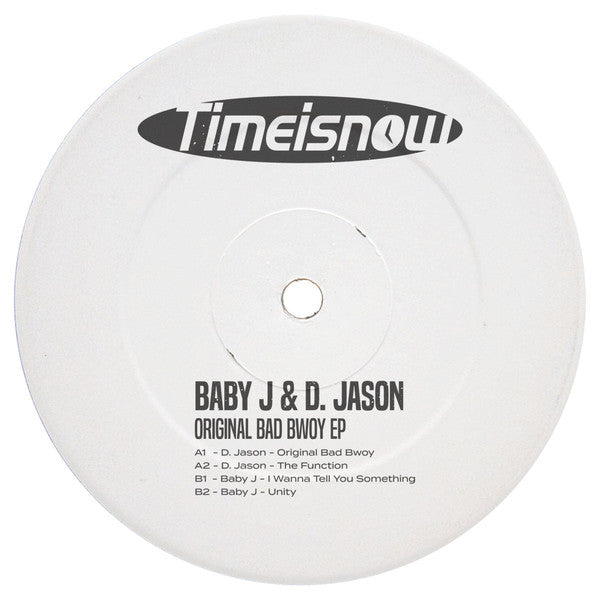Baby J / D. Jason  - Original Bad Bwoy EP