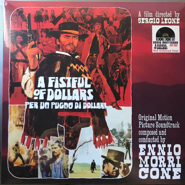 Ennio Morricone - A Fistful Of Dollars - Per Un Pugno Di Dollari (Red)