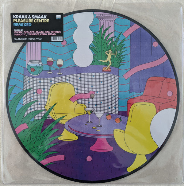 Kraak & Smaak - Pleasure Centre ‎Remixed