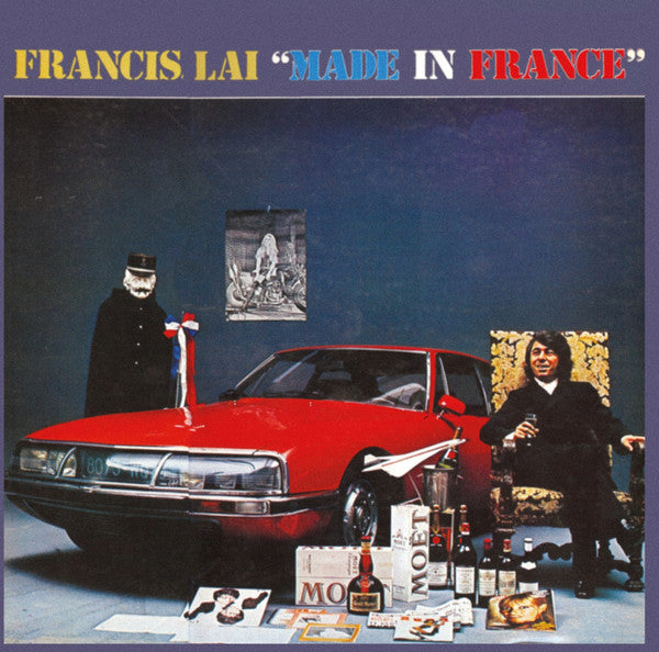 Francis Lai - Made In France (Coloured)