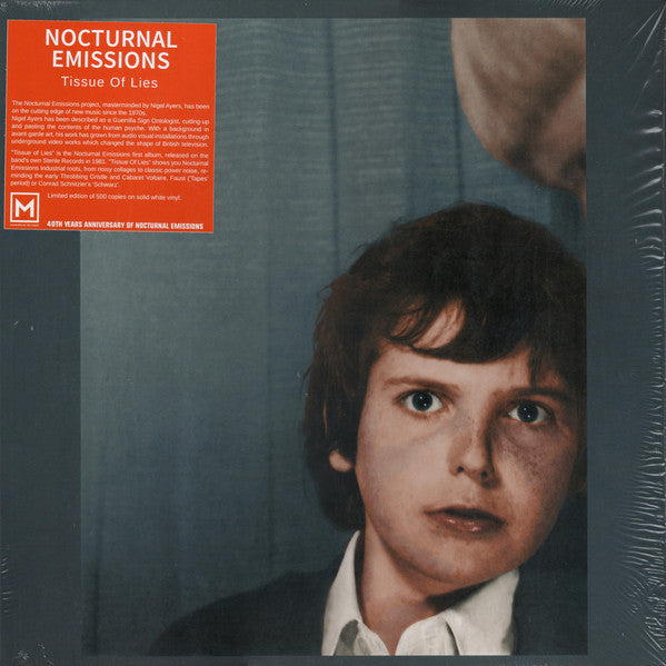Nocturnal Emissions - Tissue Of Lies (White)