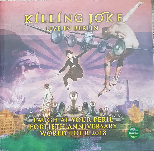 Killing Joke - Laugh At Your Peril (Live In Berlin) (Pink)