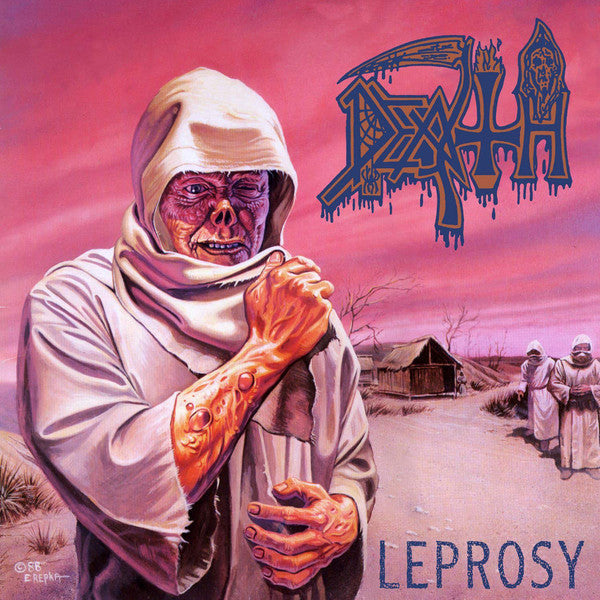 Death - Leprosy (Blue)