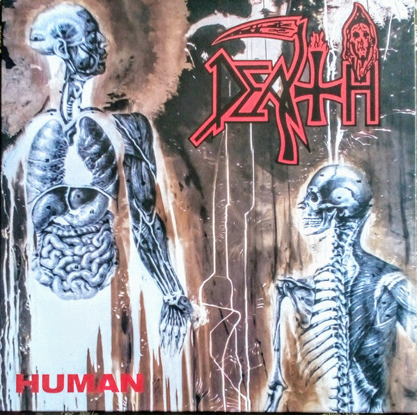Death - Human (Clear With Pinwheels)