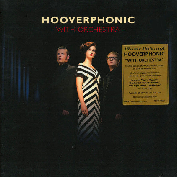 Hooverphonic - With Orchestra (Transparent Blue)