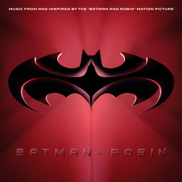 "Various Artists -  Batman & Robin: Music From And Inspired By The ""Batman & Robin"" Motion Picture`(Coloured)"