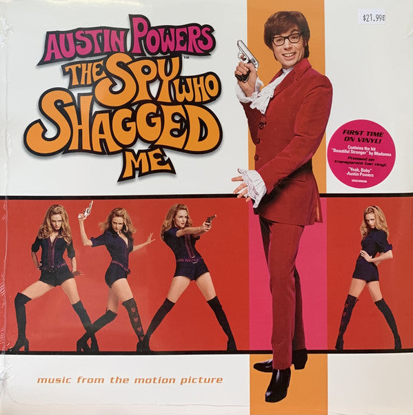 Various Artists - Austin Powers - The Spy Who Shagged Me (Transparent)