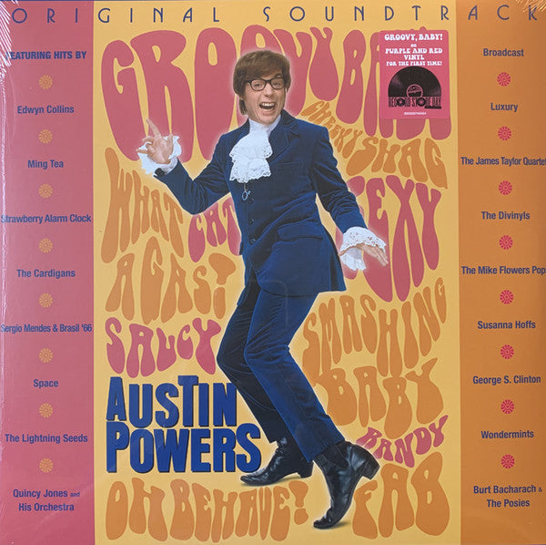 Various Artists - Austin Powers (Coloured)