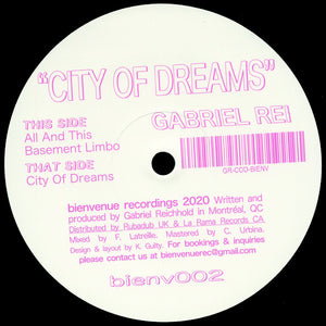 Gabriel Rei - City Of Dreams