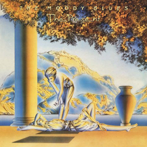 USED -  The Moody Blues ‎ - The Present