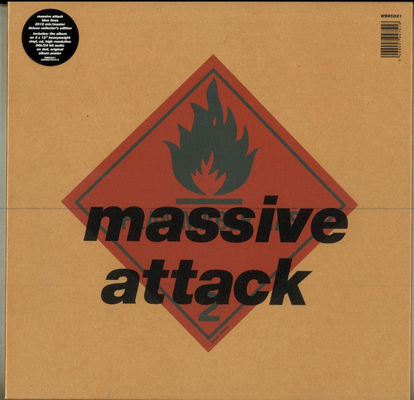 Massive Attack -  Blue Lines : 2012 Mix/Master (Boxset)