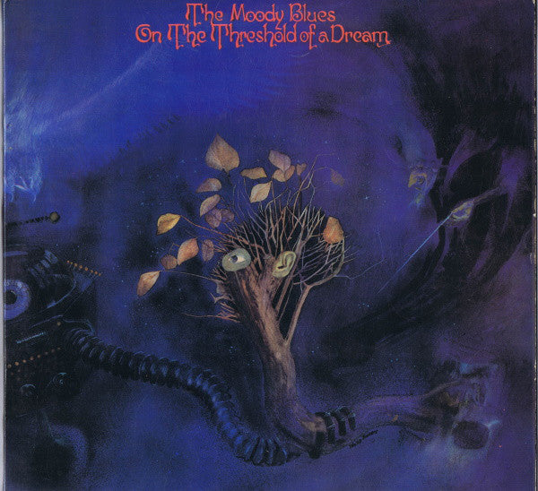 USED -  The Moody Blues  - On The Threshold Of A Dream