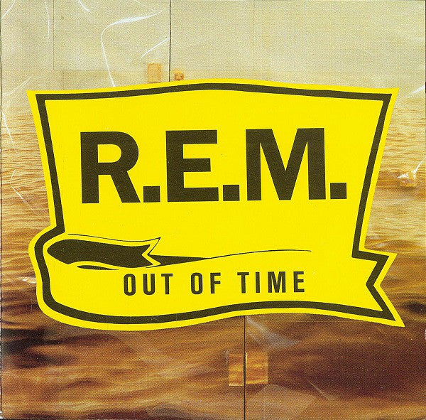R.E.M. - Out Of Time (Clear Yellow Vinyl)