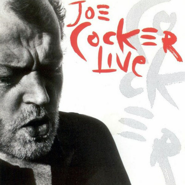 Joe Cocker - Live (Transparent Red)