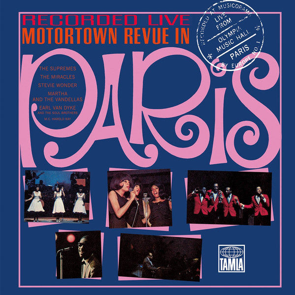 Various Artists - Motortown Revue In Paris