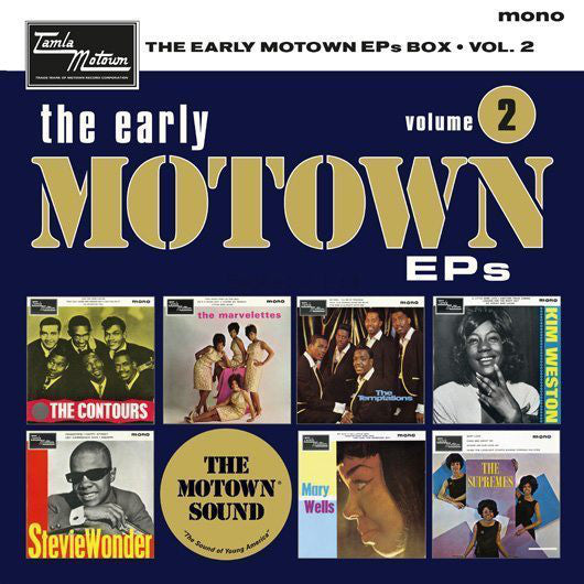 Various - The Early Motown EPs Box Volume 2 (7X7')
