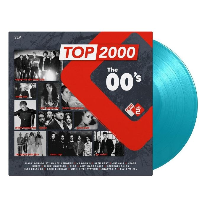 Various Artists - Top 2000: The 00's (Turquoise)