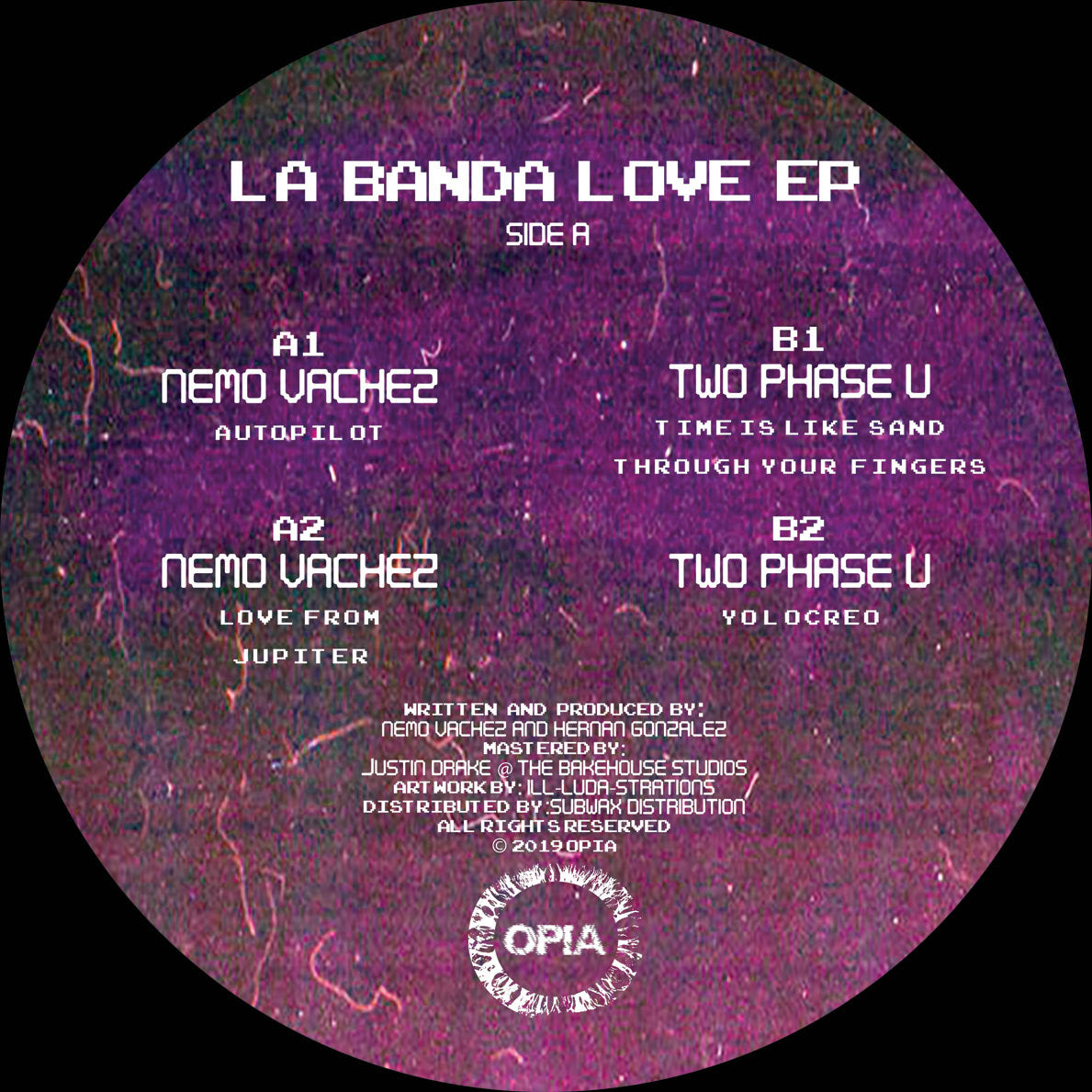Nemo Vachez, Two Phase U ‎ - La Banda Love EP