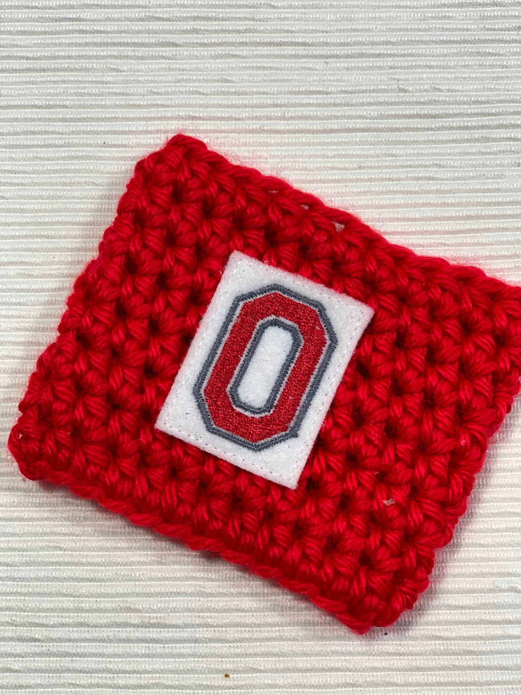 Ohio State O Reusable Eco-Friendly Hot and Cold Beverage Cup Cozy