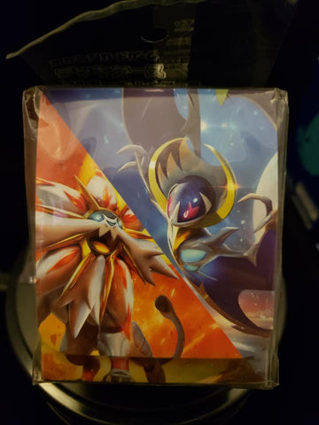 Solgaleo and Lunala Deck Box - Japanese - New