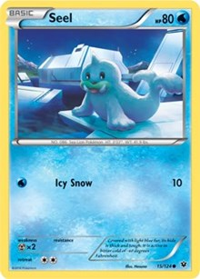 Seel - 15/124 - Common - XY Fates Collide