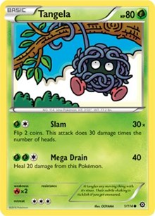 Tangela - 1/114 - Common - XY Steam Siege