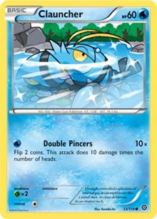 Clauncher - 33/114 - Common - XY Steam Siege