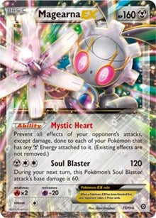 Magearna EX - 75/114 - Ultra Rare - XY Steam Siege