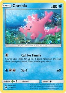 Corsola - 36/149 - Uncommon - Sun & Moon (Base Set)