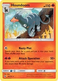 Houndoom - 46/214 - Rare - Sun & Moon Lost Thunder