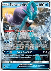 Suicune GX - 60/214 - Ultra Rare - Sun & Moon Lost Thunder