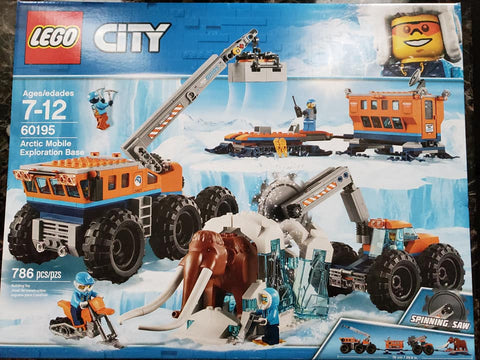 City - Arctic Mobile Exploration Base - 60195 - Lego
