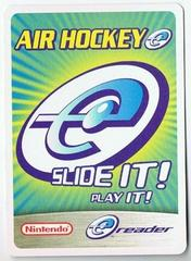 Air Hockey E-Reader - GameBoy Advance
