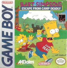 Bart Simpson's Escape from Camp Deadly - GameBoy