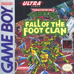 Teenage Mutant Ninja Turtles Fall of the Foot Clan - GameBoy