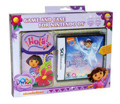 Dora the Explorer Dora Saves the Snow Princess [Case Bundle] - Nintendo DS