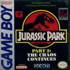 Jurassic Park 2 The Chaos Continues - GameBoy