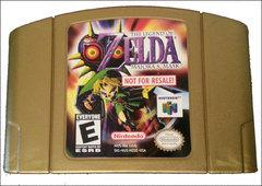 Zelda Majora's Mask [Not for Resale Gold] - Nintendo 64