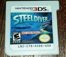 Steel Diver [Not for Resale] - Nintendo 3DS