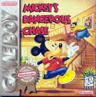 Mickey's Dangerous Chase [Player's Choice] - GameBoy