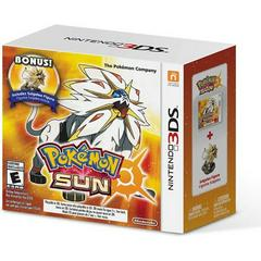 Pokemon Sun [Figure Bundle] - Nintendo 3DS