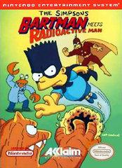 The Simpsons Bartman Meets Radioactive Man - NES