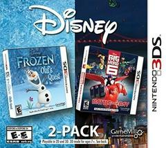 Frozen & Big Hero 6 Disney 2 Pack - Nintendo 3DS