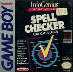 InfoGenius: Spell Checker and Calculator - GameBoy