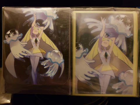 Lusamine and Nihilego - Japanese - Sleeves and Deck Box Combo