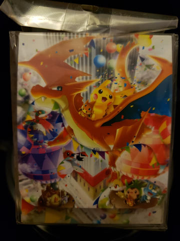 M Charizard and Pikachu Celebration - Japanese - Deck Box