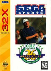 Golf Magazine Presents 36 Great Holes Starring Fred Couples - Sega 32X
